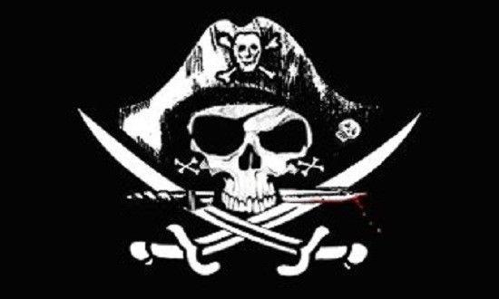 Besättningen gjorde som jag sa och var nu helt i mitt våld. De hissade  piratflaggan och kom tillbaka med den fina Ålandsflaggan dad7508c73a4d